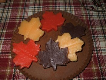 Retail Scented Fall Leaves Tarts