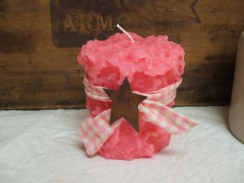Lisa's Retail Caked Candle