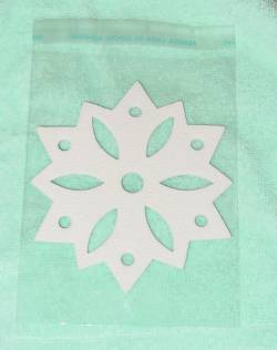 Sealed Bag with Snowflake