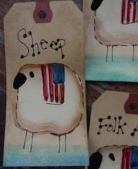 Sheep Hang Tags