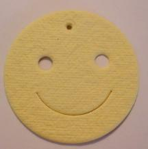 Smiley Face Paper Cut Out