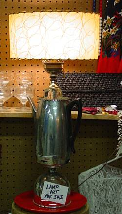 Vintage Coffee Lamp